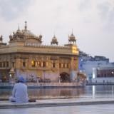 Ráno u Zlatého chrámu