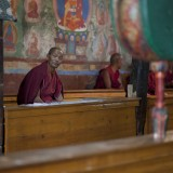 Mnich v klášteru Thiksey